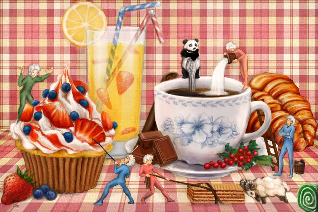 Coffee and Sweets by Maylar