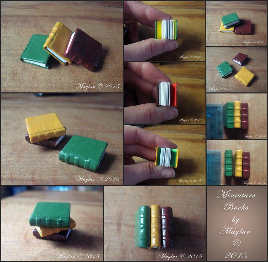 Miniature Books (basic) by Maylar
