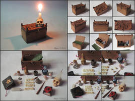 Mage's Chest, miniature set