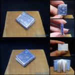 Silver Snowflakes Miniature Book