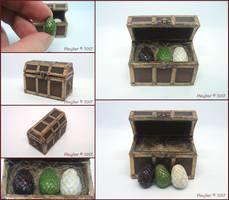 Dragon Eggs by Maylar