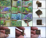 Woodland II, Miniature Book