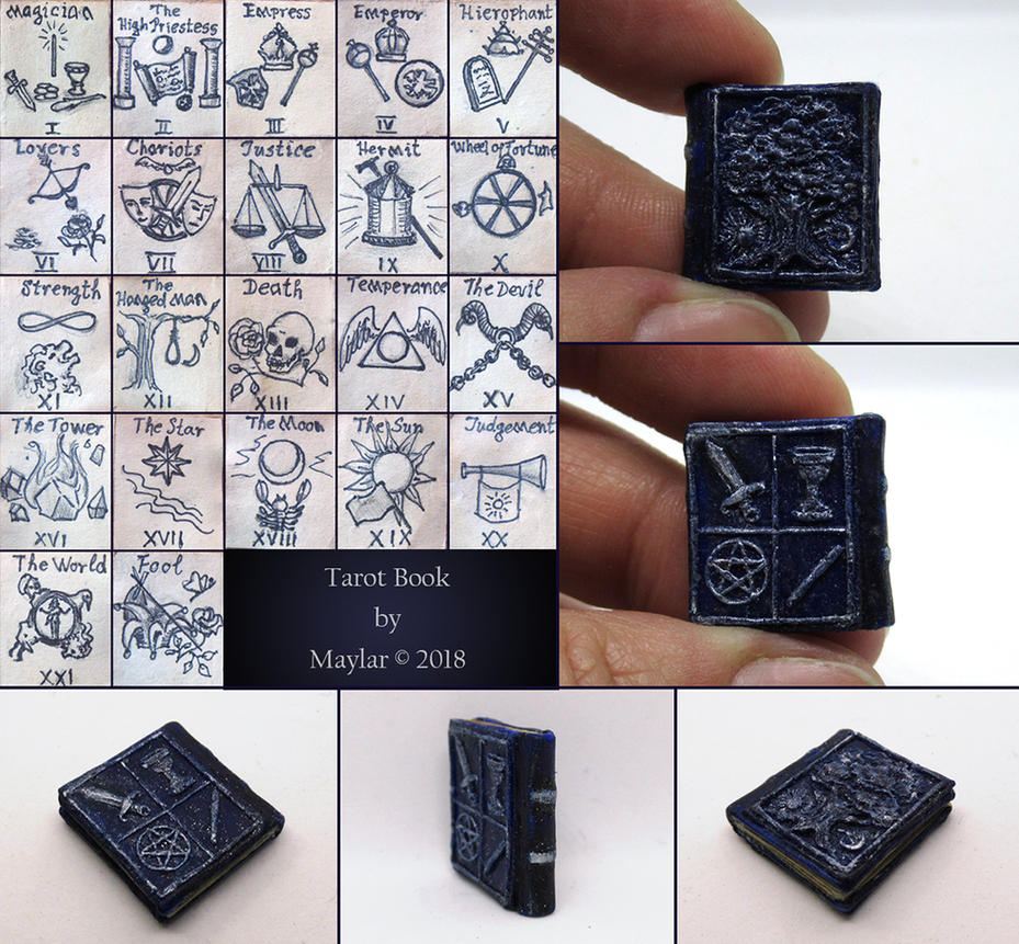 Tarot Miniature Book by Maylar