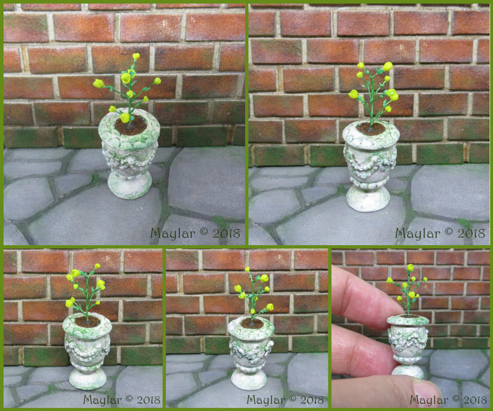 Magic Plant Miniature - 13 Elescenca by Maylar