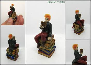 Finn, the Book Elf by Maylar