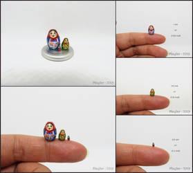 Miniature Matryoshka  II - Smallest Yet by Maylar