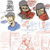 TF2 Sketches by Radioactive-Blowout