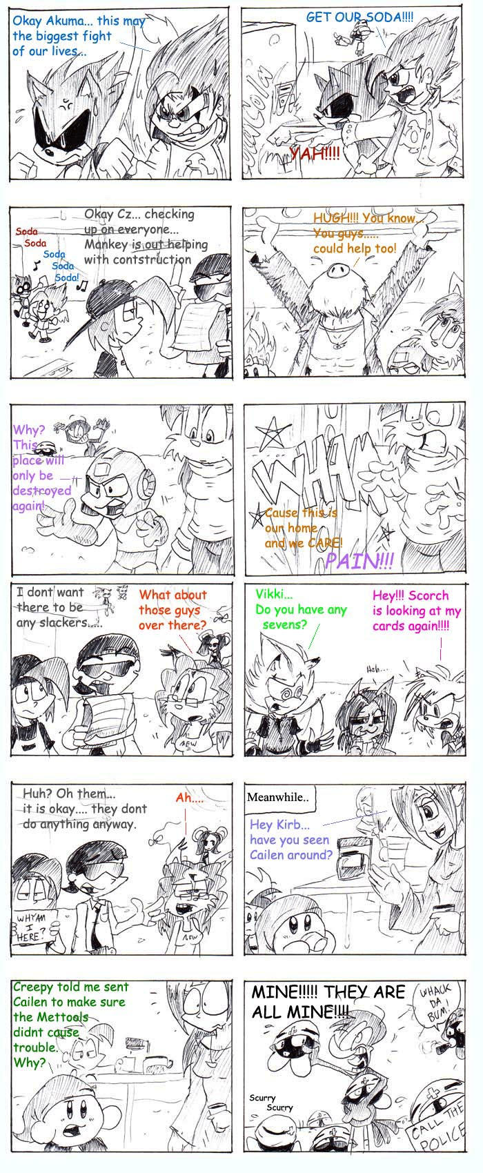TFS Collab Improv Comic by cailencrow