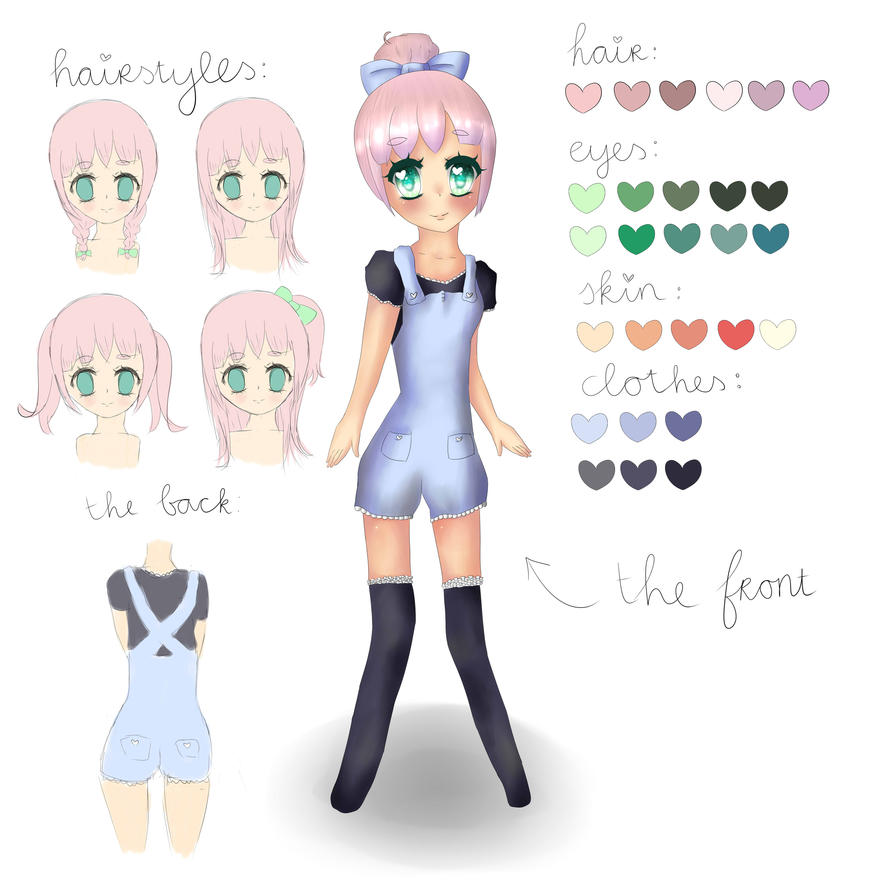 Character Reference: Lana by piccohan
