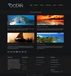 OCEAN - Portfolio Page
