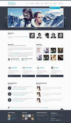 Webster Premium HTML Template by ZERGEV