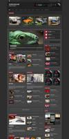 Crumble - Responsive Wordpress Magazine / Blog