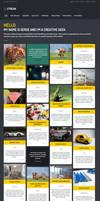 Streak - Responsive WordPress Blog / Portfolio