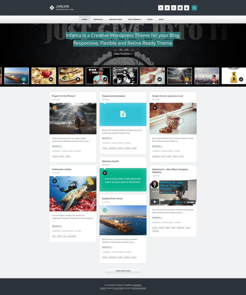Responsive WordPress Theme Food Delivery