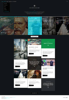 Atica - WordPress Creative Blog Theme - Home