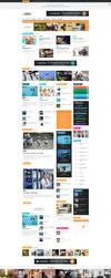 Albatros - WordPress Magazine Theme - Home by ZERGEV