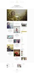Foxlight - WordPress Personal Blog Theme - Home by ZERGEV