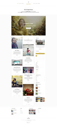 Foxlight - WordPress Personal Blog Theme - Home