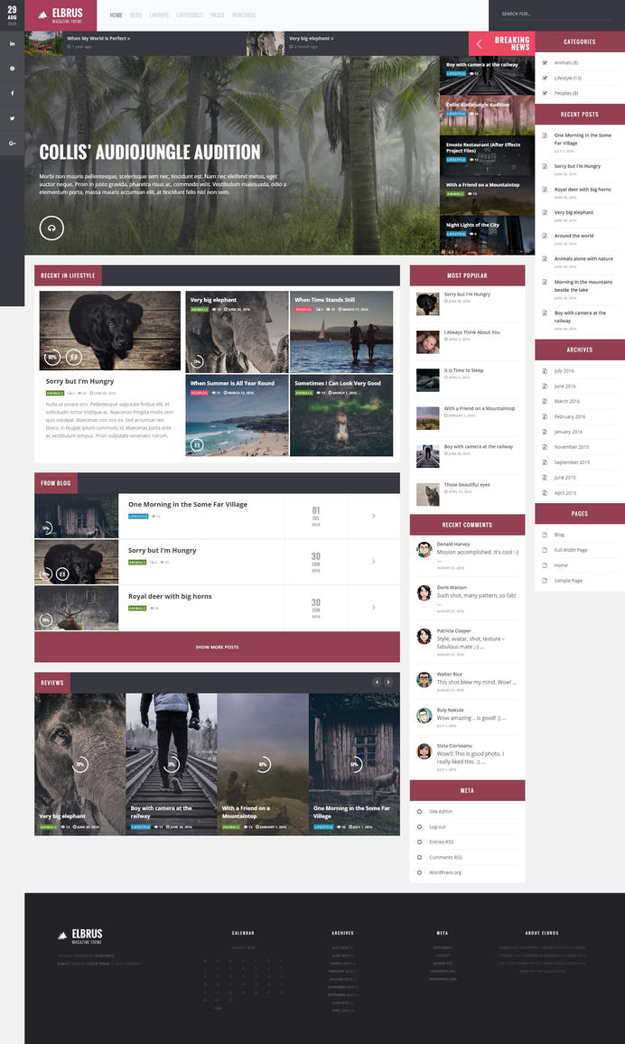 Image Result For WordPress Customize Page