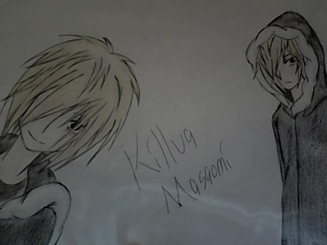 Killua Masaomi by ookamikiddy
