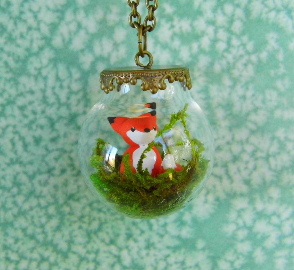 Fox Terrarium Necklace By CharmingLittleFox On DeviantArt