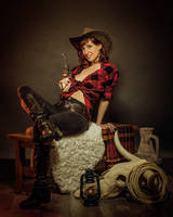 Cowgirl by Pintureiro