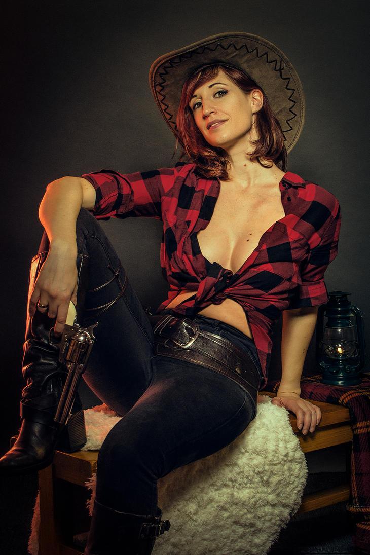 Cowgirl II by Pintureiro