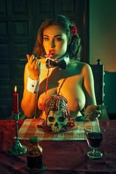 Romantic dinner by Pintureiro