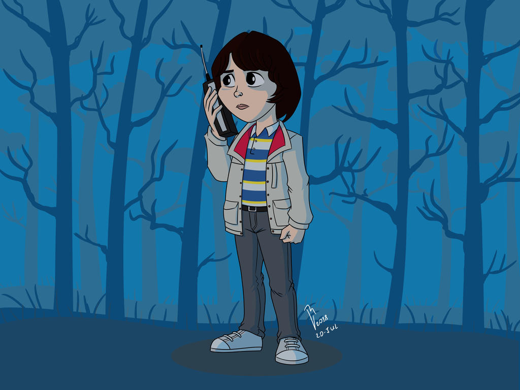 Mike Stranger Things By Robville On Deviantart