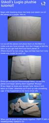 Lugia plushie tutorial by Deoxtri