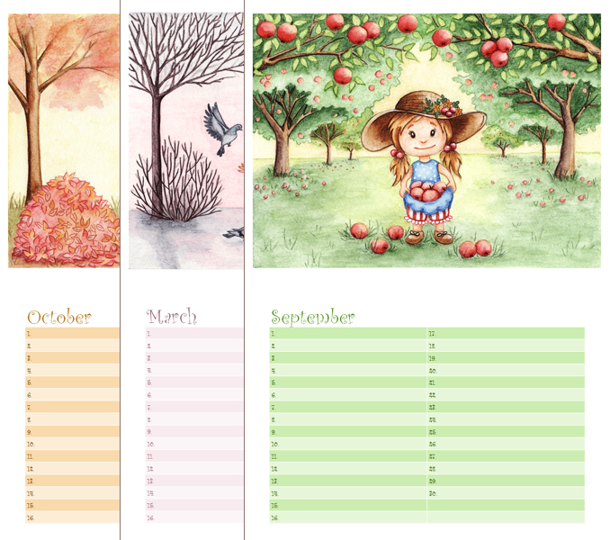 Calendar Reminder Wallpaper : Birthday reminder calendar pre order closed by ilona s