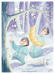 Frost boys by Ilona-S