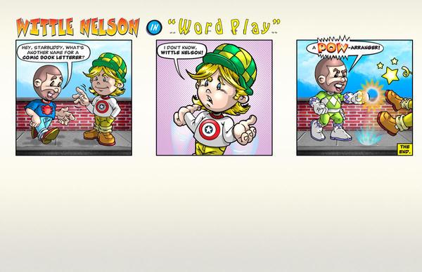 Wittle Nelson comic strip by NelsonRibeiro
