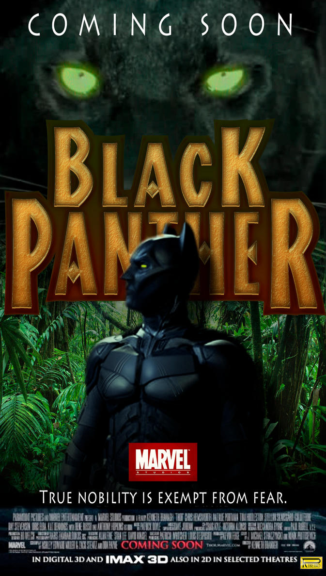 Fake Black Panther Movie Poster by NelsonRibeiro