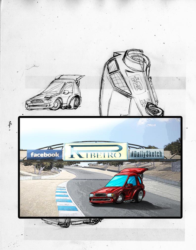 Car-TOONS001 by NelsonRibeiro