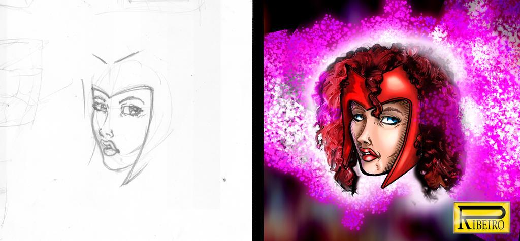 Scarlet Witch002 by NelsonRibeiro