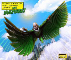 The Vulture by NelsonRibeiro