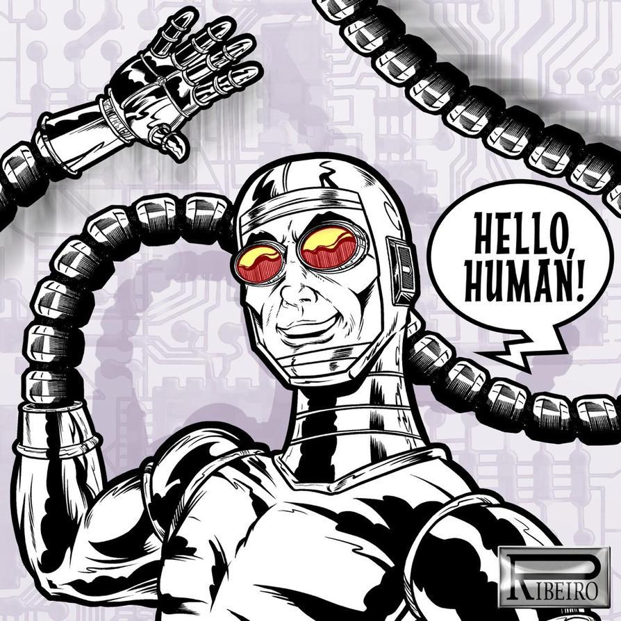 MACHINE MAN by NelsonRibeiro