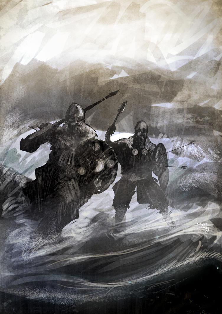 Viking Raid by FilipeHattori