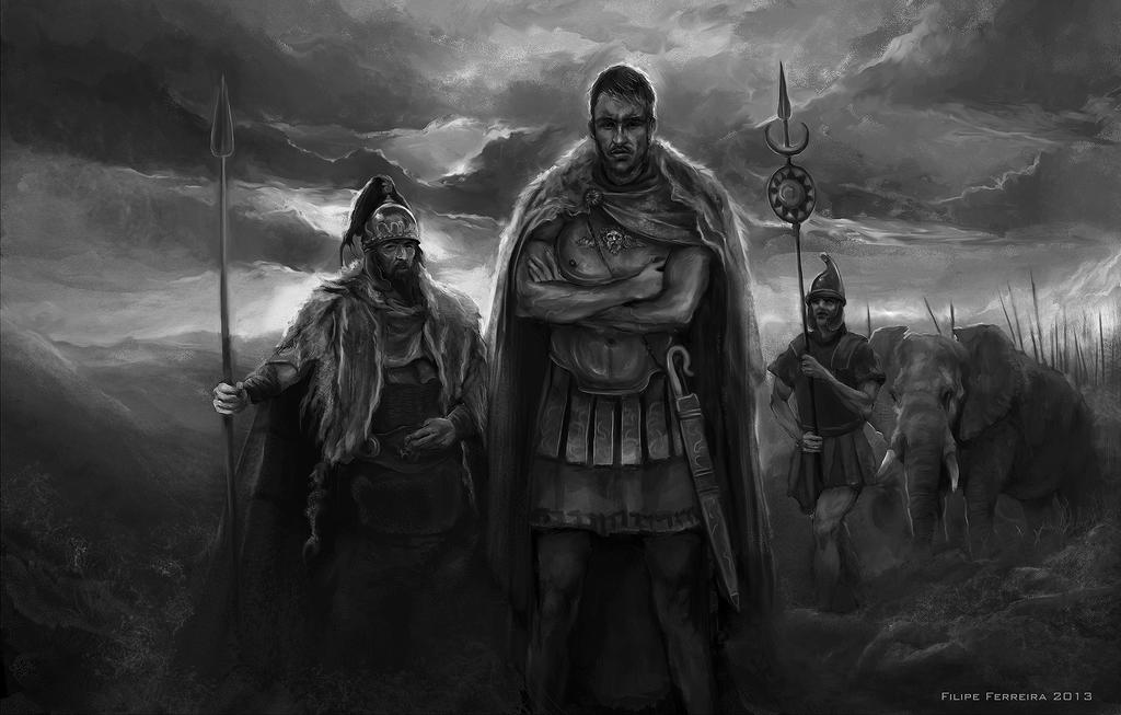A biography of hannibal the father of strategy and the commander of the carthaginian army in the sec