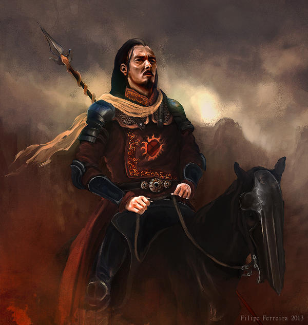 Warriors Fire And Ice Ar Points: The Red Viper Of Dorne By Filipe Ferreira : ImaginaryWesteros