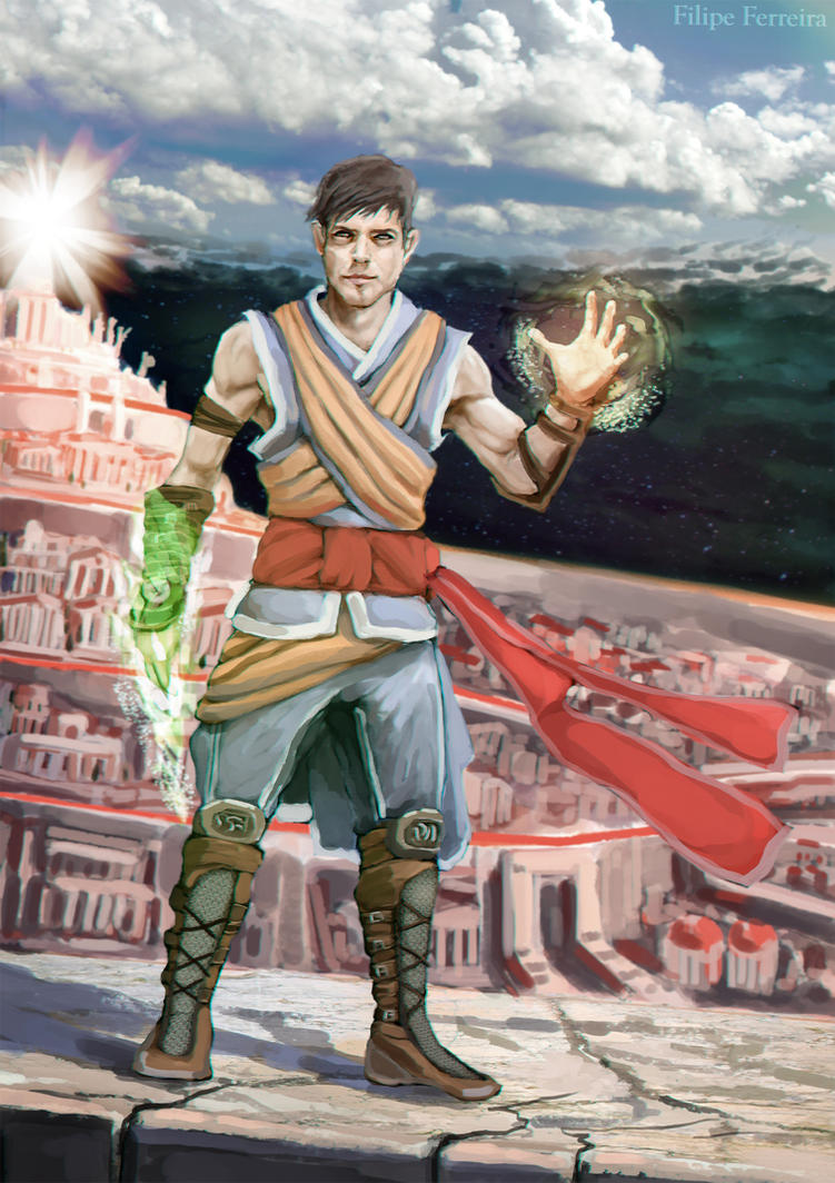 character final EdHarris 2 by FilipeHattori