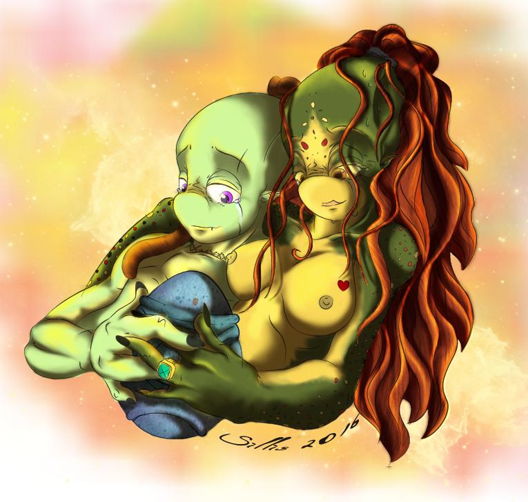 Happy Couple by keniakittykat