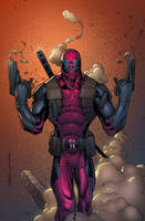 Deadpool by erickarciniega