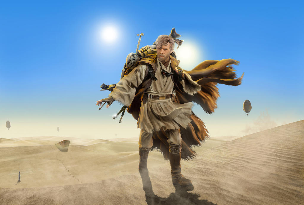 Image result for obi wan desert warrior