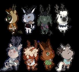 Animal Crossing Elkhs