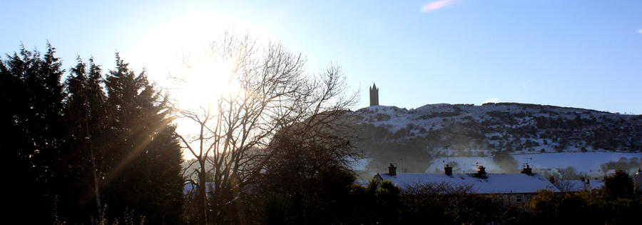 Panoramic Scrabo Tower by Living-Life-Loud