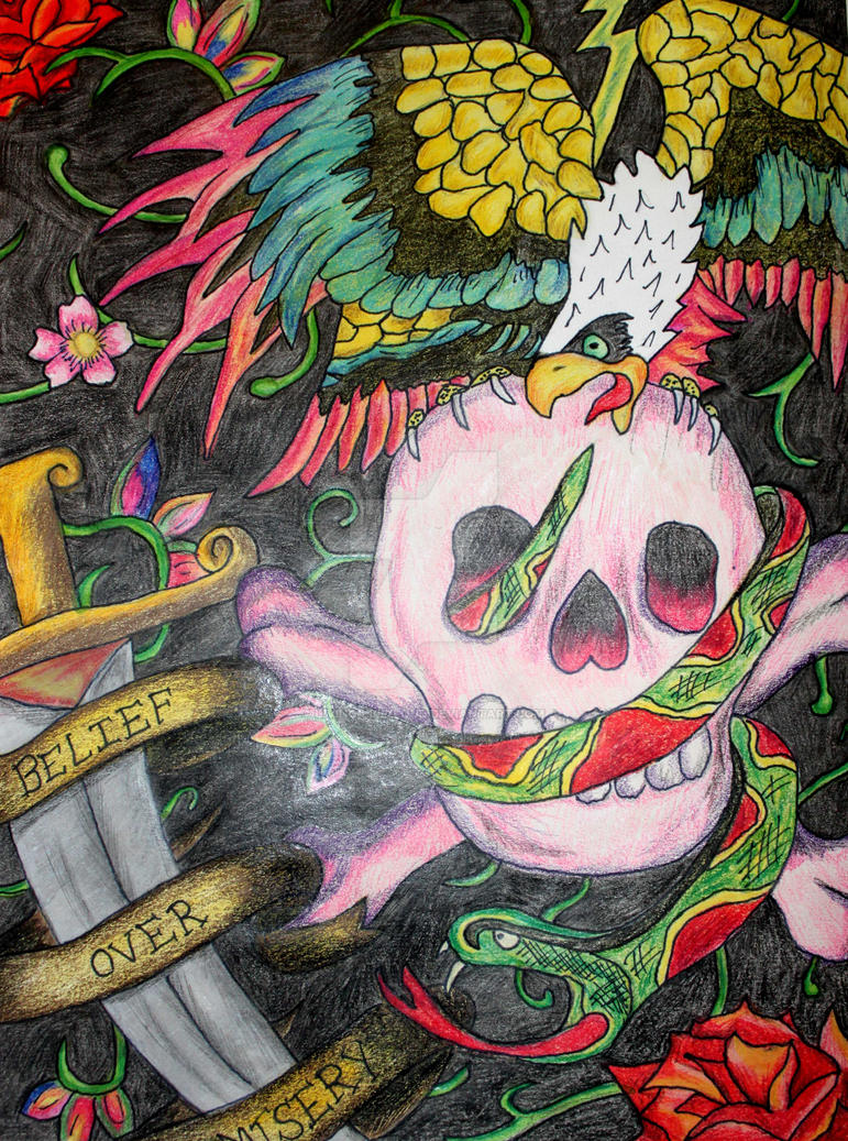 Ed Hardy collage 1 by Living-Life-Loud