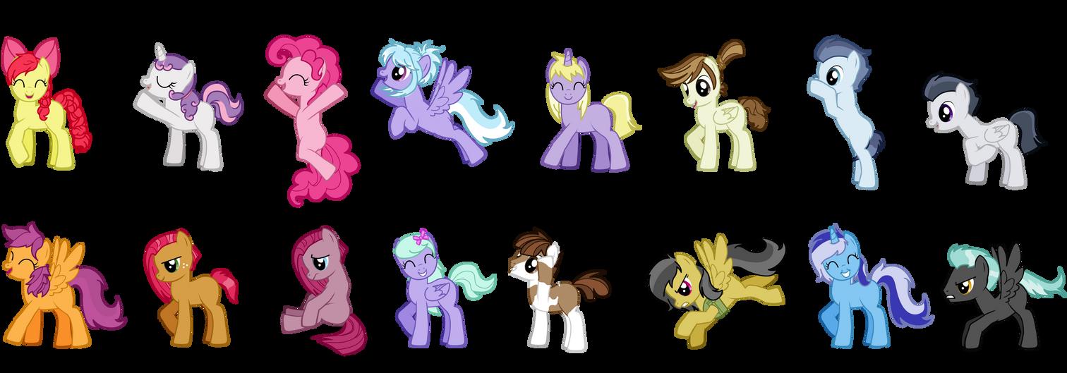 Пони креатор v3 как сделать две пони креатор играть