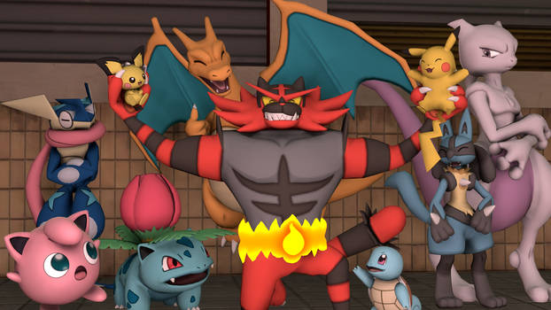 [SFM] - Welcome to the Party Incineroar by ScoutEevee